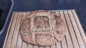 Pan artesano con masamadre