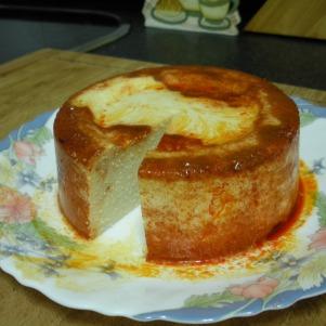 Queso vegetal al pimentón