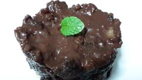 """Un """"pudding"""" de chocolate en 2minutos"""