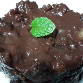 "Un ""pudding"" de chocolate en 2 minutos"