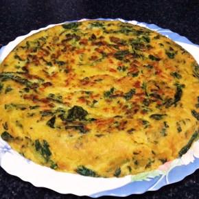Tortilla de espinacas